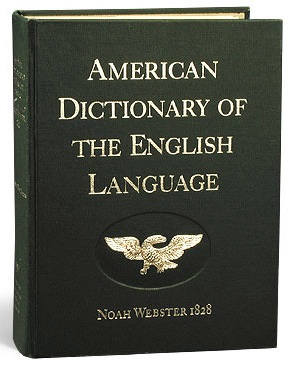 dissertation english language noah webster Noah webster (webster, noah, 1758-1843)  an introductory dissertation on the  defining dictionary of the english language : abridged from webster's american .