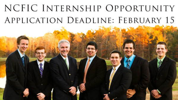 6-month Internship Opportunity for Homeschooled Young Men