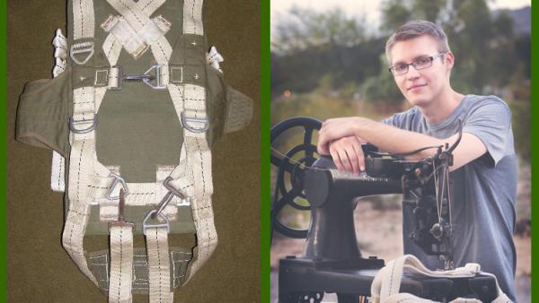 Joshua DeJong: Parachute Rigger