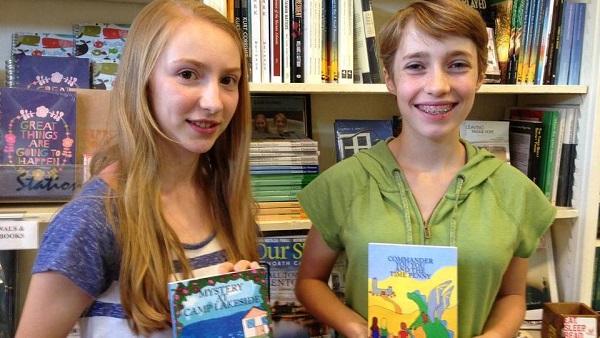 Homeschooled Authors: Sydney Campanella and Lauren-Kate Stewart