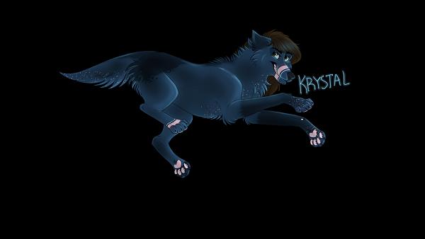 My Wolf Krystal